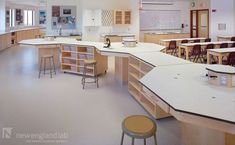 Dexter School | Clay Science Center | Portfolio | New England Lab | New England Lab