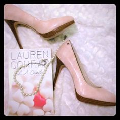 Calvin Klein pale blush pumps Beautiful for your valentines plans whether your with your love or your girls! Great for black dress or any color!!! 4 1/2 in heel with platform! NEW IN BOX! Calvin Klein Shoes Heels