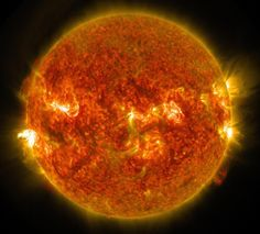 Physicists see potential dark matter from the Sun : Nature News & Comment - SDO/NASA: Only independent cross-checks will confirm if the Sun is indeed spewing particles of dark matter.