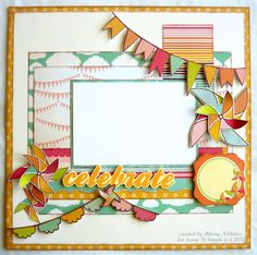 Layout Kit (2) with Kaisercraft Save the Date, created by Hilary Nicholas