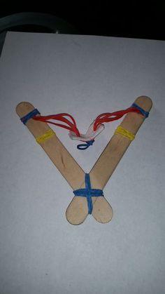 Slingshot Craft For Preschoolers