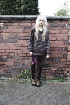 adorable grunge style
