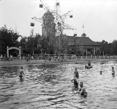 I'm 44yrs old and I have lived in Denver on the North Side 4ever and I just found out today that the lake behind Lakeside amusement park was a beach and it was name Lake Rhoda. AMAZING!