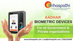 Looking for Best Aadhaar Enabled Biometric Attendance System? we are the AEBAS suppliers in Hyderabad, India. Contact Now: 9581234499 Biometric Devices, Finger Print Scanner, Attendance, Enabling, Organization, Technology, Getting Organized, Tecnologia, Organisation