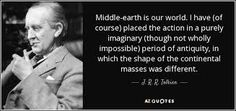 Image result for middle-earth quote
