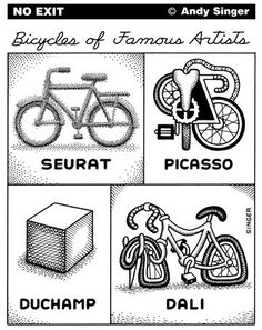 Different perception = different bike. Which do you like the most? Bicycles Love Girls. http://bicycleslovegirls.tumblr.com