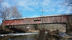 Coxford Covered Bridge- long shot