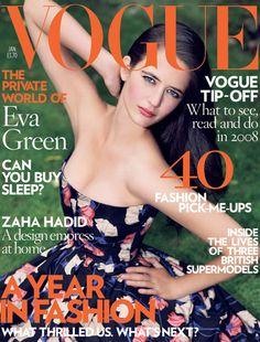 Eva Green / Vogue cover