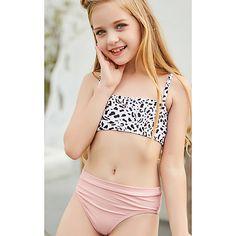 Little Girl Bikini, Little Girl Swimsuits, Kids Swimwear, Bikini Swimwear, Cheap One Piece Swimsuits, Jojo Siwa Outfits, Little Girl Leggings, Mädchen In Bikinis, Bathing Suits
