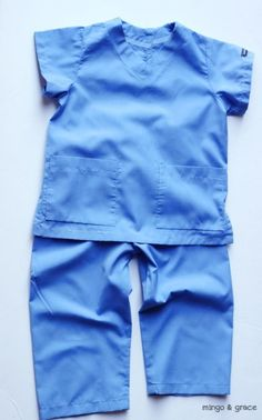 mingoandgrace.com   DIY Toddler Boy Doctor Costume.. Opy wants to be a doctor. May have to buy his!