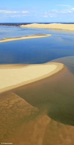 La dune du Pilat, bassin d'Arcachon, Aquitaine, France. Tallest sand dune in Europe