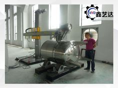 Stainless steel tank buffing machine_Metal Polishing/ Buffing Machine For Sale Rolling Table, Stainless Steel Tanks, Beams, Metal, Metals, Exposed Beams