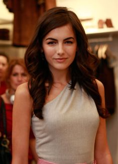 Camilla Belle wearing Ralph Lauren at the women's store on Bleecker Street for…