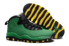 "http://www.yesnike.com/big-discount-66-off-cheap-air-jordan-10-x-retro-oregon-ducks-for-sale.html BIG DISCOUNT! 66% OFF! CHEAP AIR JORDAN 10 (X) RETRO ""OREGON DUCKS"" FOR SALE Only $94.00 , Free Shipping!"