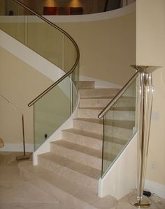 Marble Stairways ... very stately!