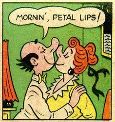 Mornin' petal lips!   comic books comics