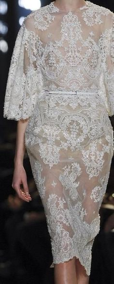Not Ordinary Fashion — Elie Saab Haute Couture