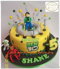 Ben 10 Allien Force Cake
