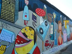 let's have a drink #EastSideGallery