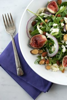 Not used to cooking with figs? Try tossing a few into a simple summer salad to see if you like the taste.