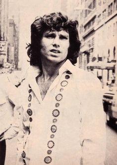 Jim looking like Elvis in New York.