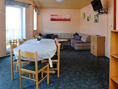 Apartmánový dům Železná Ruda - apartmán C Conference Room, Omega, Table, Furniture, Home Decor, Decoration Home, Room Decor, Tables, Home Furnishings