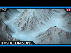 Landscape Kit For Cinema 4D | Make Mountains In Seconds !! | The French Monkey Test | Cycles 4D - YouTube