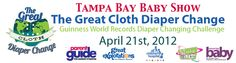 Join the Tampa Bay Great Cloth Diaper Change