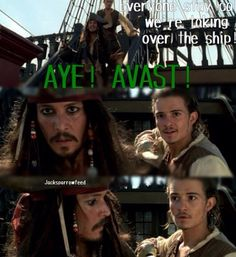Pirates of the Caribbean curse of the black pearl quote