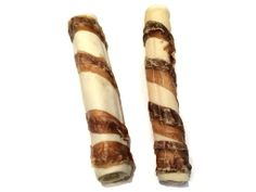 FarmFood Rawhide Wrapped Roll ( pack of 2 ) | Pooch and Company