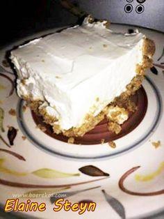 Braai Recipes, Milk Recipes, Tart Recipes, Cheesecake Recipes, Baking Recipes, Cookie Recipes, Dessert Recipes, Pepermint Cake, 3 Ingredient Fruit Cake Recipe