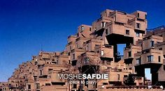 Moshe Safdie on building uniqueness  Looking back over his long career, architect Moshe Safdie delves into four of his design projects and explains how he labored to make each one truly unique for its site and its users.