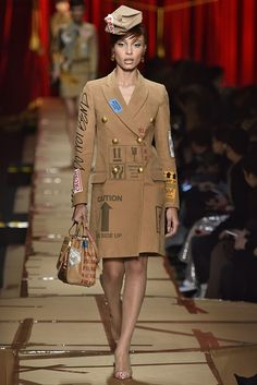 Moschino Fall 2017 Ready-to-Wear Collection - Fashion Unfiltered