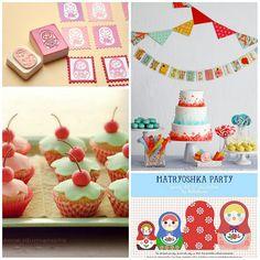 matryoshka birthday party