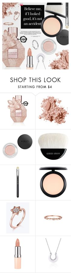 """Beauty"" by metisu-fashion ❤ liked on Polyvore featuring Viktor & Rolf, Bobbi Brown Cosmetics, Giorgio Armani, MAC Cosmetics, Rimmel, Atlantico and metisu"
