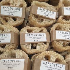 Esponja Vegetal hazloverde@gmail.com #esponja #vegetal #luffa #vegano #natural #biodegradable #jabonesartesanales  #veganos #vegan #packagingdesign #mty #monterrey