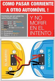 Imprímelo y llévalo en la Guantera... Como pasar corriente a un acumulador de un automóvil a otro. http://krro.com.mx/