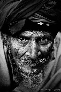 Fierce looking bearded man   Joshi Daniel Photography