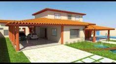 Plantas De Casas Com Varanda Gourmet E 3 Quartos, video plantas de casas t?rrea com quartos e varanda gourmet