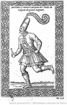 Nicolay 08 Peyk (Imperial messenger running)