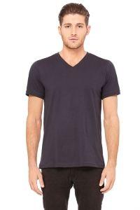 Unisex Jersey Short Sleeve V-Neck Tee | 3005