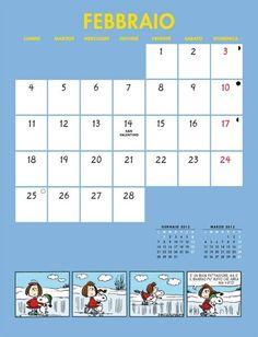 Calendario Pentaus - Febbraio 2013