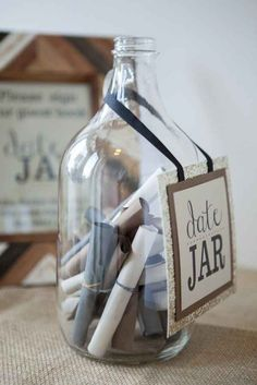 I'd probably set this up at my reception to get date ideas from people....anonymously of course lol