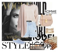 """""""Bez naslova #49"""" by ermina996 ❤ liked on Polyvore featuring Topshop, Chloé, Keds, River Island, NYX, women's clothing, women's fashion, women, female and woman"""