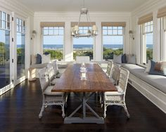 I want this view in my dining room!