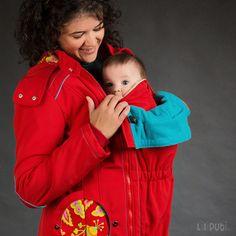Liliputi® Babywearing Mama Coat Floral Garden   Liliputi baby shop