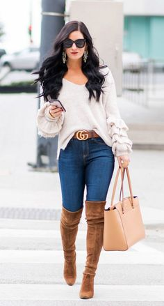 Blue Outfit Ideas casual winter outfits ideas for women color friday Blue Outfit Ideas. Here is Blue Outfit Ideas for you. Blue Outfit Ideas yellow and blue cute outfit with jeans for back to school. Blue Outfit Ideas r. Stylish Winter Outfits, Cute Spring Outfits, Winter Fashion Outfits, Fall Fashion Trends, Fall Winter Outfits, Autumn Winter Fashion, Casual Outfits, Fashion Ideas, Fashion Styles