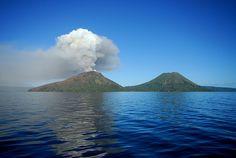 Mount Tarvurvur, New Guinea