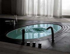 esta no es una bañera... es un tubo que, lo llenas de agua y te metes en él