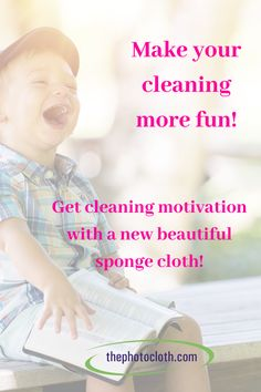 Get cleaning motivation with beautiful photoprinted sponge cloths! Spend more time with your family and have a great time while cleaning! Buy 3 pay for Swedish Dishes, Cleaning Cloths, Natural Cleaning Products, Clutter, More Fun, Tarot, Projects To Try, Hacks, Lettering